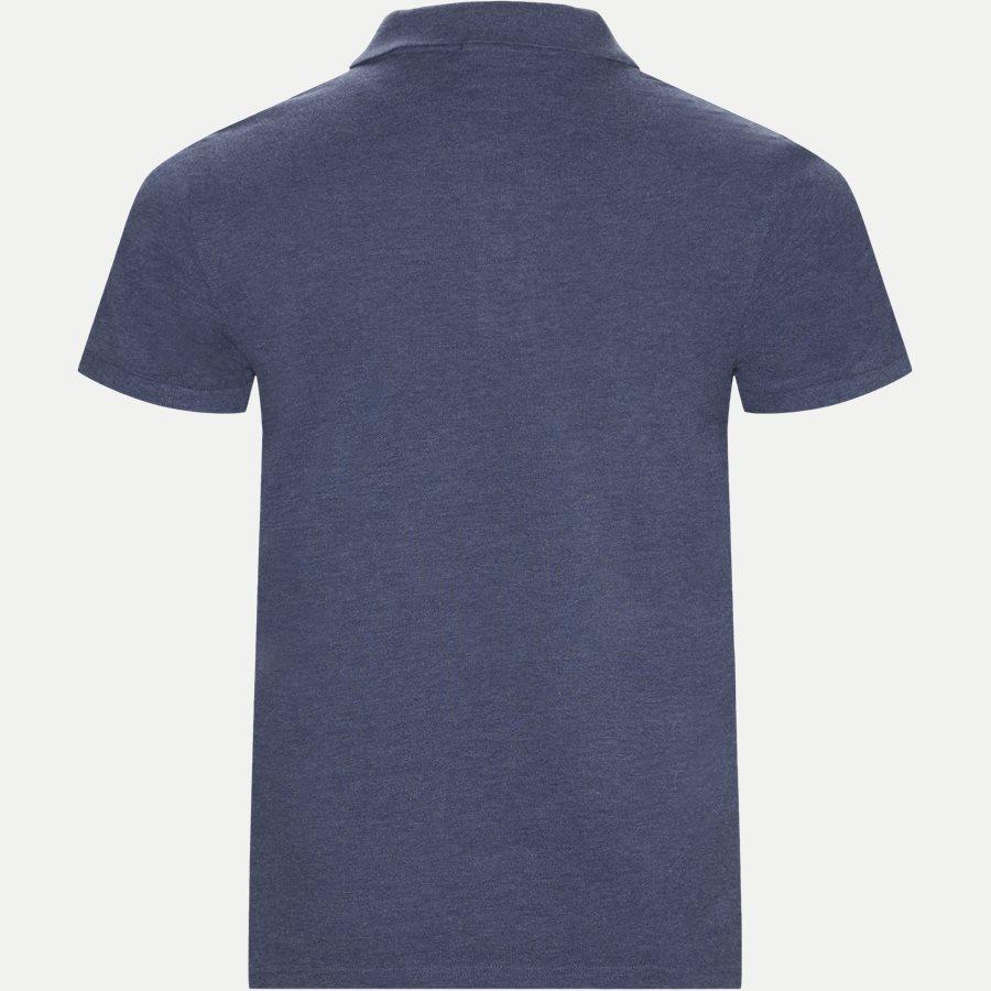 2201 S19 - T-shirts - Regular - DENIM MELANGE - 2